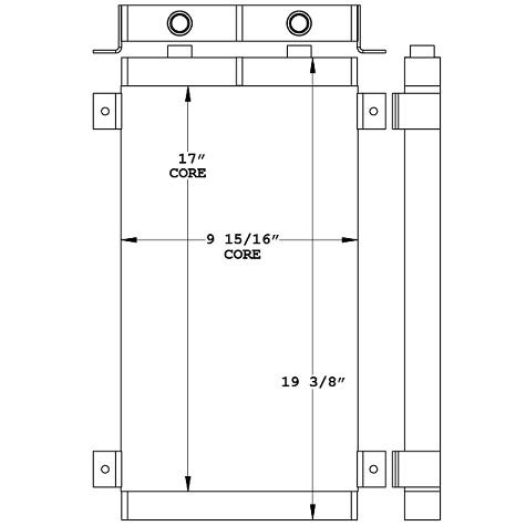 271134 - Industrial Oil Cooler Oil Cooler