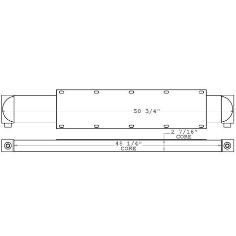 271169 - Industrial Oil Cooler Oil Cooler