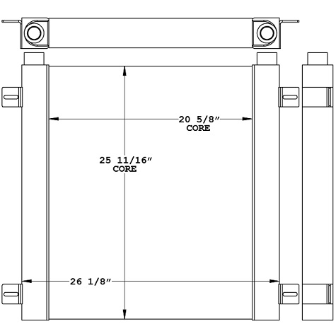 271191 - Thermal Transfer Products Oil Cooler Oil Cooler