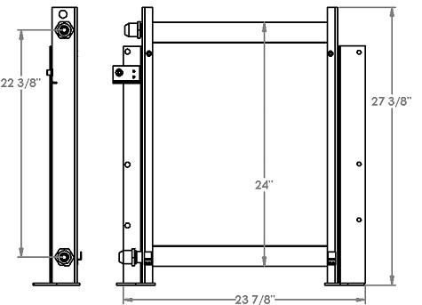 271209 - Komatsu PC60 Oil Cooler Oil Cooler