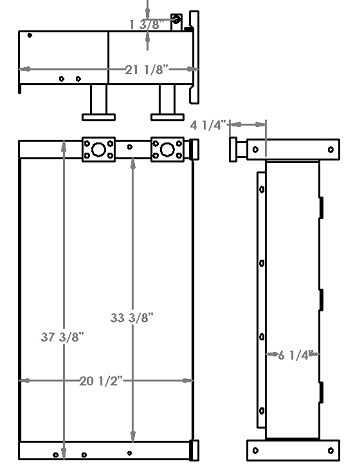 271247 - Volvo ECR305C Oil Cooler Oil Cooler