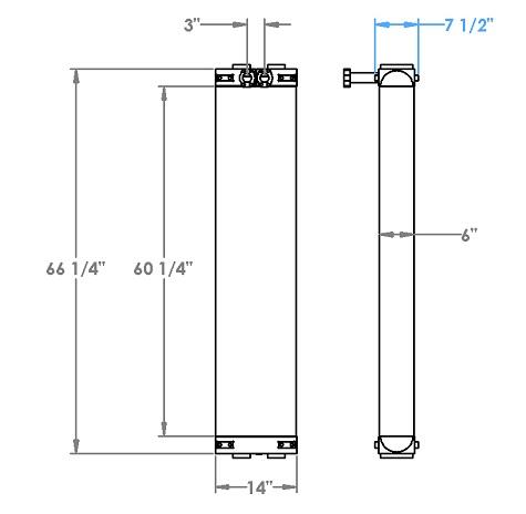 271274 - Schramm Oil Cooler Oil Cooler