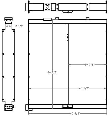 271326 - Industrial Oil Cooler Oil Cooler