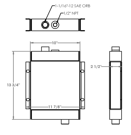 271337 - Thermal Transfer Product Oil Cooler Oil Cooler