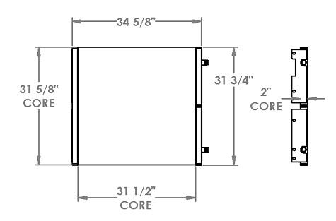 271348 - Crane Carrier Oil Cooler Oil Cooler