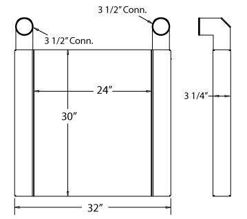 280003 - Charge Air Cooler  Charge Air Cooler