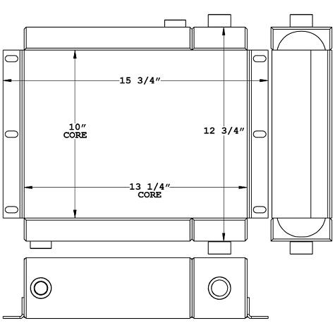 290036 - Radiator / Oil Cooler Combination Unit Combo Unit