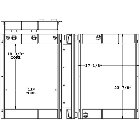 290243 - Industrial Combination Cooler Combo Unit