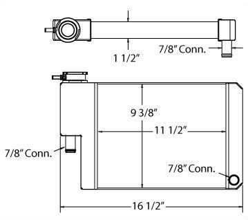 450053 - Kinetics Radiator Radiator