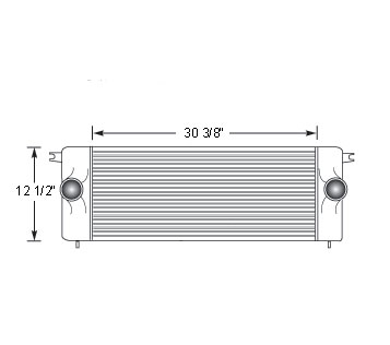 DOD11301 - Dodge RAM Pickup up to 1994 Cummins Turbo Diesel  Charge Air Cooler