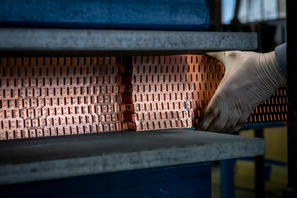 manufacturing copper and brass cores