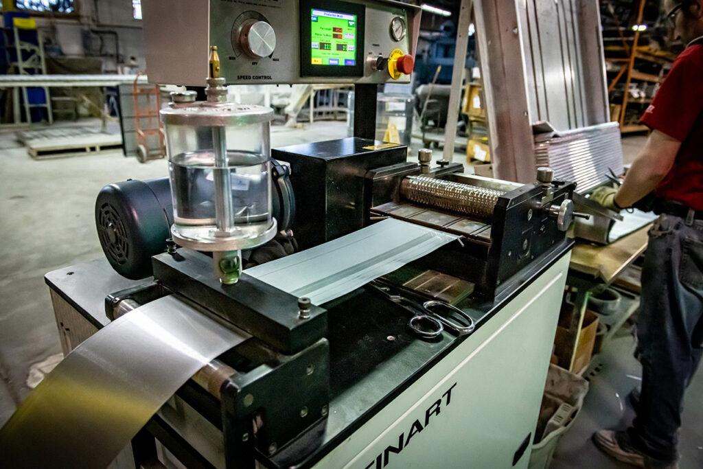 machining aluminum cores
