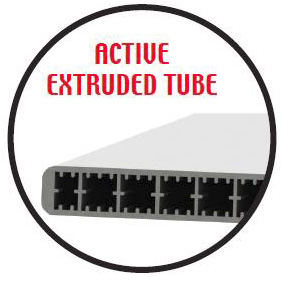Active extruded tube