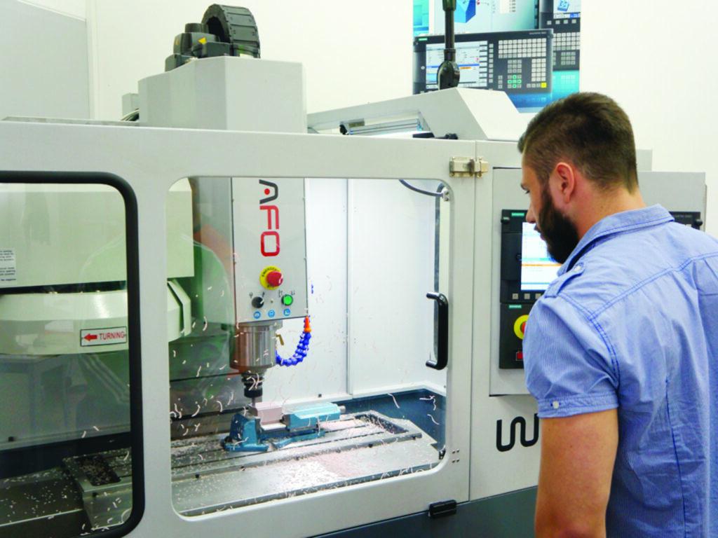 machining heavy equipment parts