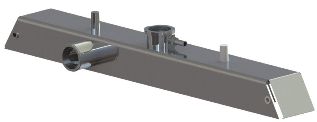 fabricated aluminum tank