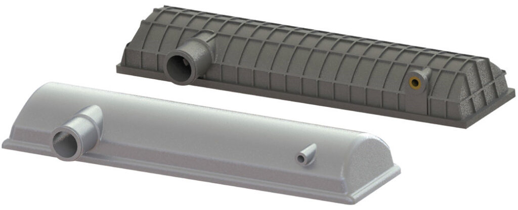 cast tank radiator parts