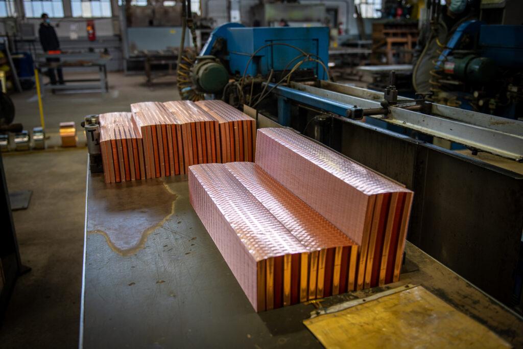 core assembly, flat fin