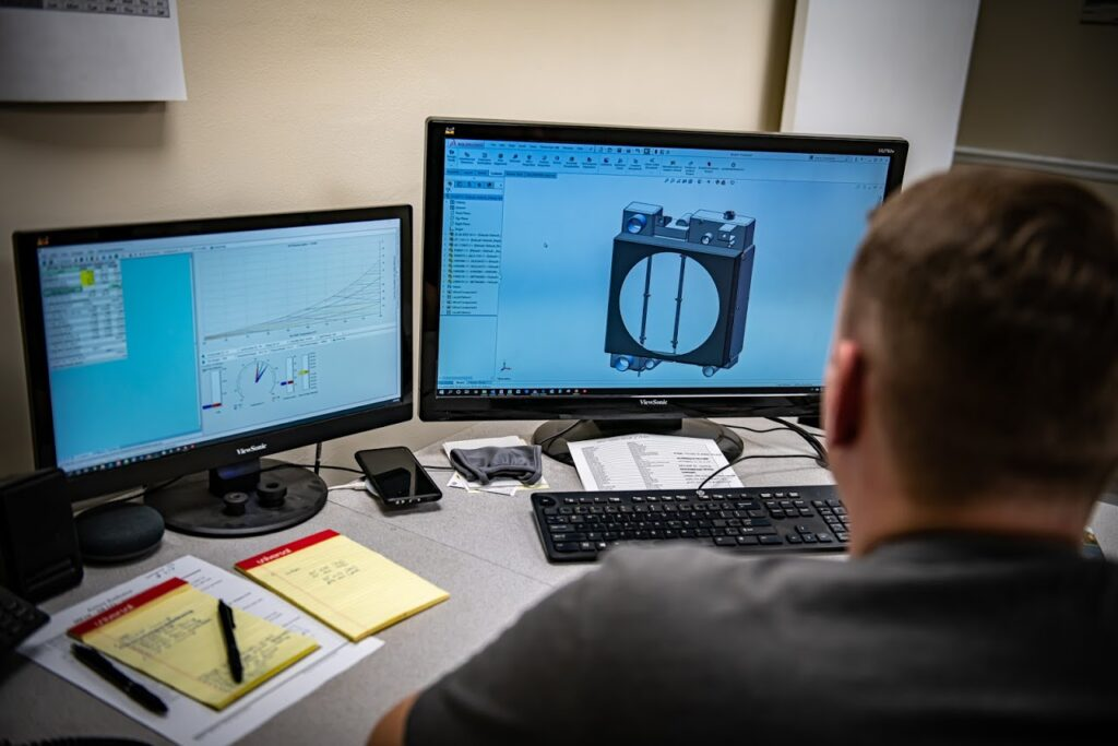 engineering a prototype on a computer