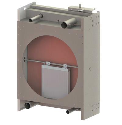 a generator radiator