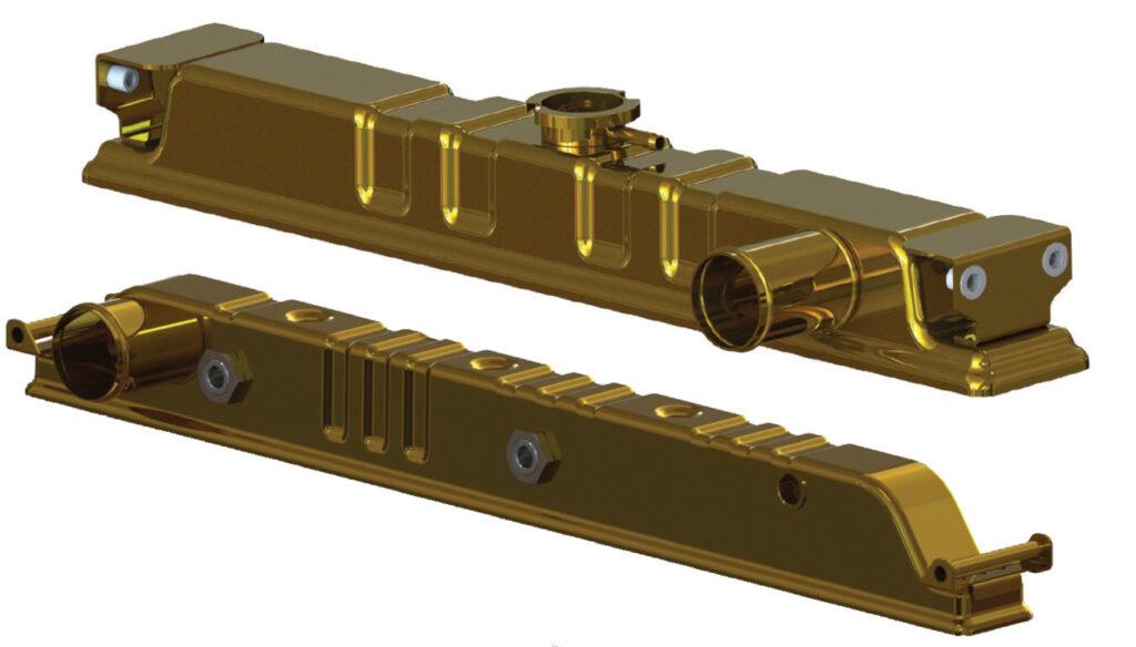stamped brass tanks