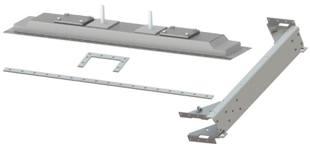 steel tanks and side frames