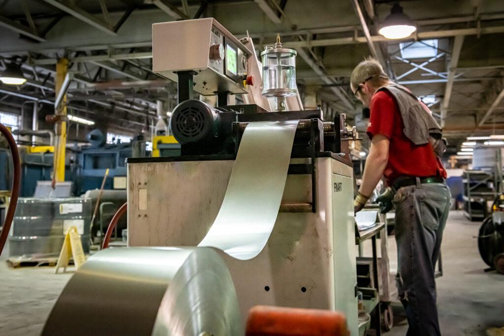 manufacturing an aluminum unit