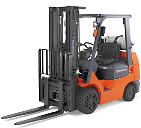 a toyota forklift