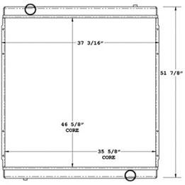 Advanced 450522 radiator drawing