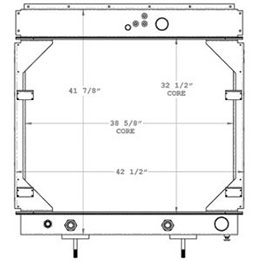 Advanced 450523 radiator drawing