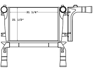 Advanced 280303 charge air cooler drawing